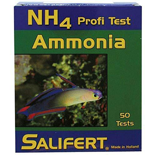 Test para medir el amoniaco en el acuario