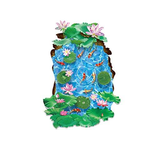 Feixiang® 3d diy famiglia vinile arte stickers murali arredamento casa decorazioni a parete cameretta adesivi e murali da parete carta da parati decorazione murale (a)