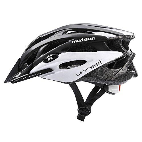 meteor Fahrradhelm MV29 UNREST: Erwachsene Unisex & Jugendhelme Rad helm für Radfahrer Radsport; für Hoverboard, Inline-Skate, BMX Fahrrad, Scooter. Entwickelt für die...