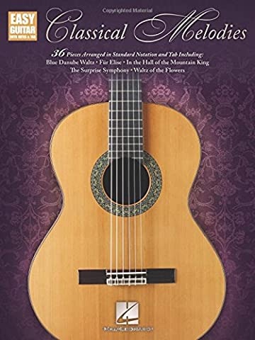 Classical Melodies: Easy Guitar With Notes & Tab