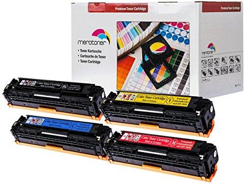 Preisvergleich Produktbild 4er Pack Toner patrone für Canon I-Sensys LBP7100 , LBP7110 , MF8230 , MF8280 CRG731 (2.400 seiten schwarz , je farbe 1.500 seiten C,Y,M)
