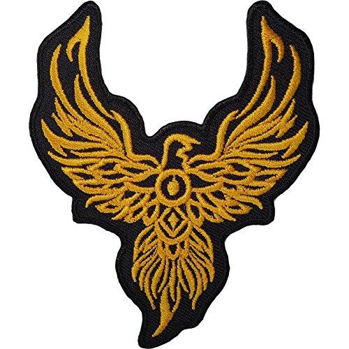 Gestickte Adler (Phoenix, Eisen auf Aufnäher mit Tier-Biker Motorrad Adler Sew gesticktes Logo)