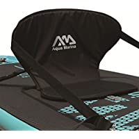 Luckyfu Asiento Deportivo de Diseño Moderno para Actividades al Aire Libre, acuáticas, acuáticos, Deportes, Barcos y Rafting, con Color Negro