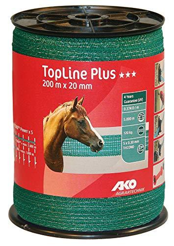 Topqualit/ät f/ür extra lange Z/äune Weidezaunband Ellofence 20mm