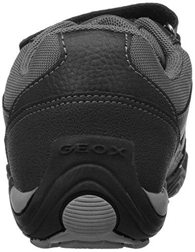 Geox JR ARNO A Scarpe con Velcro, Bambino Grau (GREY/ORANGEC0036)