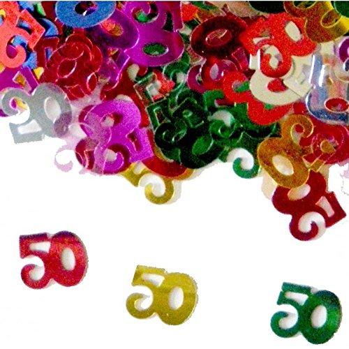Glitter Tisch 50 Jahre / 50er