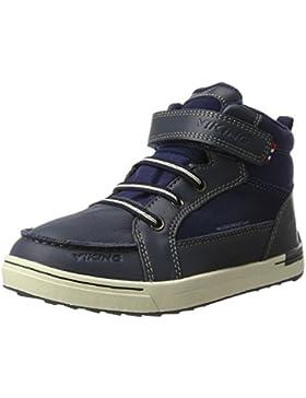 Viking Unisex-Kinder Moss Mid Hohe Sneaker