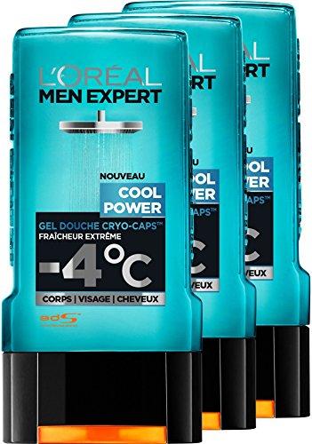 L'Oréal Men poder experto fresco Gel Ducha Frescura