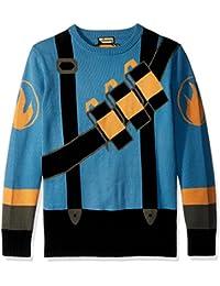 Team Fortress 2 Blue Pyro Sweater (Size Medium)