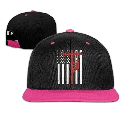 c23e6fb84838c fboylovefor American Lineman Design On The Back Snapback Hat Hip Hop  Baseball Caps