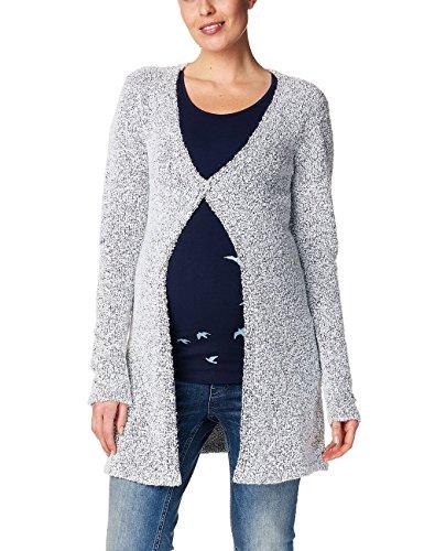 ESPRIT Maternity Damen Strickjacke Cardigan Knit Ls, Mehrfarbig (Off White 103), 36 (Herstellergröße: S)