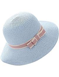 TININNA Eleganti Bowknot Cappelli della Spiaggia di Estate Outdoor Cappello  da Sole Berretto Visiera Cappello di 7dbcd8d3f3e3
