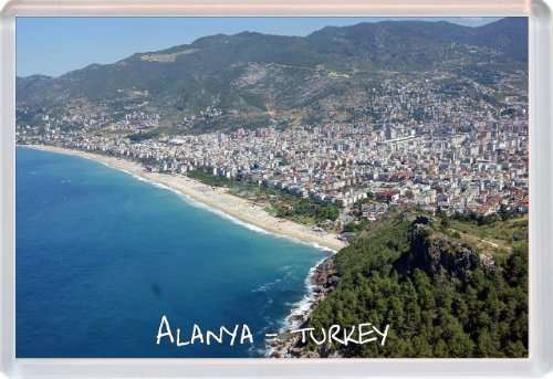 Price comparison product image Alanya - Turkey - Novelty Jumbo Fridge Magnet Gift / Souvenir / Present
