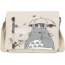 728ce099af Anime My Neighbor Totoro Sac d'épaule de sac de messager de bande dessinée  de