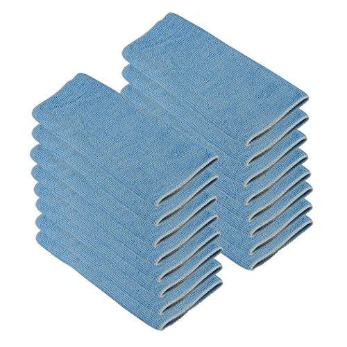 Microfaser-Reinigungstücher 30x30cm blau, 16 Stück