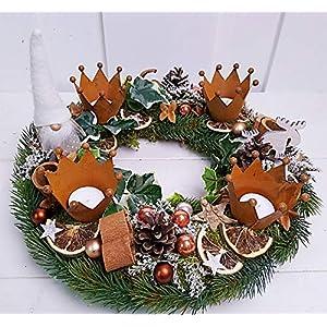 Adventskranz Kranz Weihnachten Weihnachtskranz Wichtel