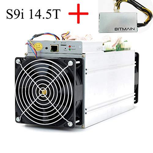 Preisvergleich Produktbild Antminer Bitmain S9 14.5TH / s ASIC BTC Miner Bitcoin Miner Include APW3++ PSU