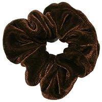 Mytoptrendz® Large Velvet Scrunchie- (Brown }