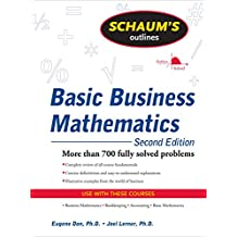Schaum's Outline of Basic Business Mathematics (Schaum's Outlines)