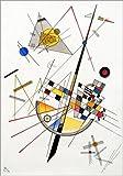 Poster 50 x 70 cm: Empfindliche Tension von Wassily Kandinsky - hochwertiger Kunstdruck, neues Kunstposter