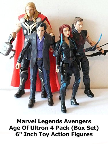 Review: Marvel Legends Avengers Age Of Ultron 4 Pack (Box Set) 6
