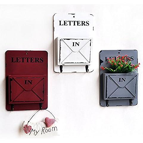 LQK-American rurale di collegare i vecchio legno Dan Gexin secchio floreale ornamento idee accessori per la casa ,