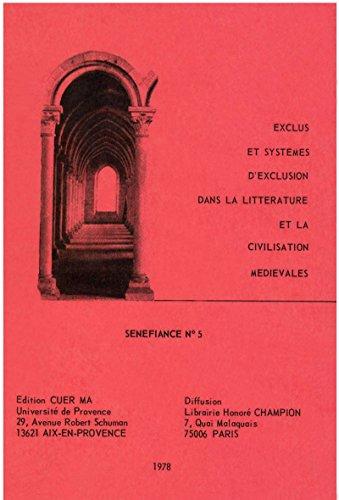 Exclus et systmes d'exclusion dans la littrature et la civilisation mdivales