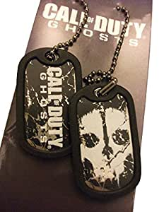 Call Of Duty Ghosts - Printed Metal Dog Tags