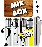 CLIPPER® Feuerzeuge Collectors Mix - Wundertüte ★ 10 PLUS 1 Box ★ mit Metall-Clipper unserer Wahl ★