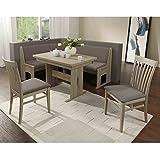 Eckbank Eckbankgruppe Essgruppe LIVORNO Essecke Tisch 2 Stühle Sonoma Eiche