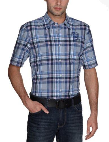LERROS chemise pour homme 2262036 Bleu - Blau (navy 492)