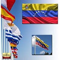 ADATECH BANDERA DE VENEZUELA 90x150 CM Bandera venezolana 100% Poliester Nueva