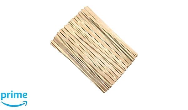Uctop Store 200/pcs 19,1/cm Bois jetable Caf/é Stir B/âtons agitateurs Th/é boissons Stir Stick M/élangeur