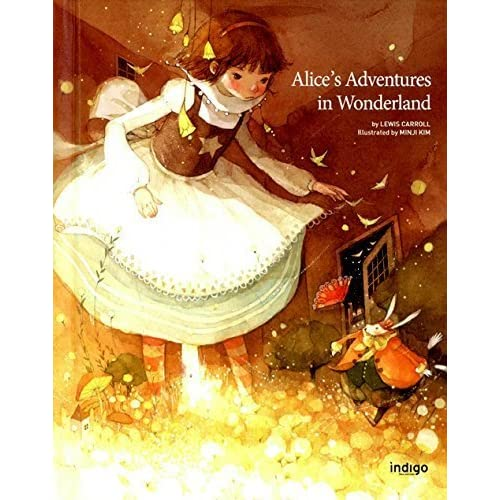 Alice's Adventures in Wonderland in Hard Cover (English Edition), Illustrator by Minji Kim by Lewis Carroll (2014-08-02)