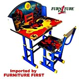 #6: FURNITURE FIRST SPIDERMAN/RED Kids Height Adjustable Study Table & Chair Set With Manual Height Locking System, Maintains Posture & Comfort, Age Between 3-10 Years, Originally Imported By FURNITURE FIRST
