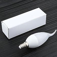 FDH 5W E14 Luces de velas LED SMD2835 CA35 10 450 lm 220-240 V CA 1 pcs,blanco cálido-220-240V