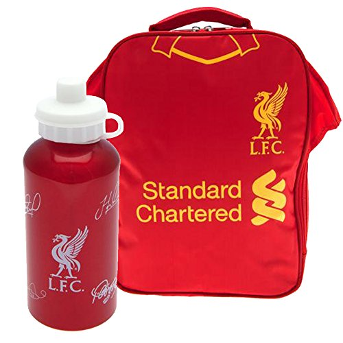 64e5427066 Official Liverpool FC Kit Lunch Bag and Drinks Bottle Combo