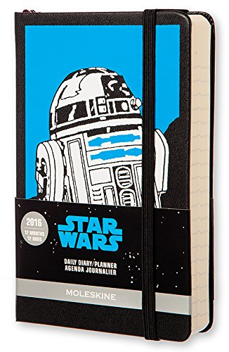 2016 Moleskine Star Wars Limited Edition Pocket Daily Diary 12 Month
