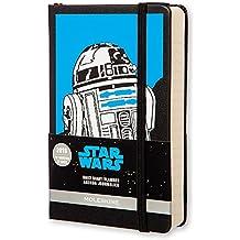 Moleskine Star Wars - Agenda diaria 2016, 12 meses, tamaño bolsillo, color negro