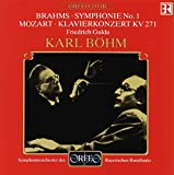Brahms: Symphonie Nr. 1 / Mozart: Klavierkonzert Es-Dur KV 271