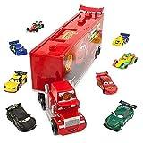 Disney Pixar Cars - Sprechender Mack Transporter mit 8 Die Cast Cars