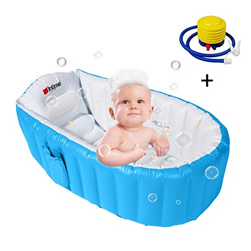 Bañera hinchable,Bañeras y asientos de baño,Bañera portátil Tiny Tots,Piscina Infantil Verano de...