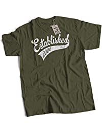 bybulldog Established In 2000 Aged To Perfection 16th Birthday Present Mens Premium T-Shirt Olive Medium