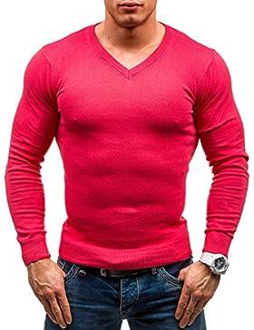 BOLF – Maglione – Pullover – Manica lunga – GLO-STORY 1818 – Uomo