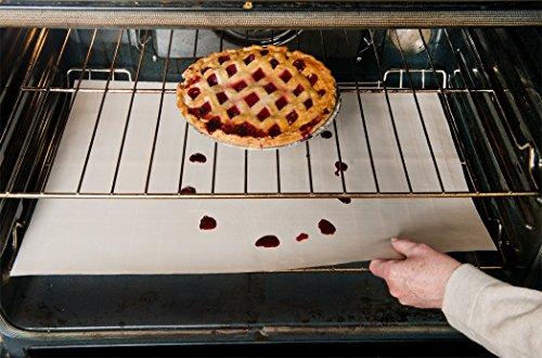 evelots-2-grande-antiaderente-forno-rack-fodere-tenere-pulito-il-forno-lavabile-beige