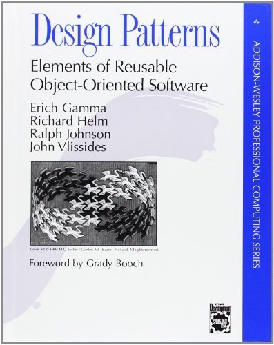 Design Patterns: Elements of Reusable Object-Oriented Software by Gamma, Erich, Helm, Richard, Johnson, Ralph, Vlissides, John (1994) Hardcover