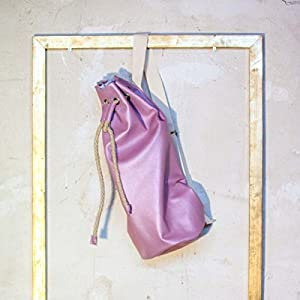 Echtleder Seesack EUMEL, Rucksack, Handtasche aus echtem Leder