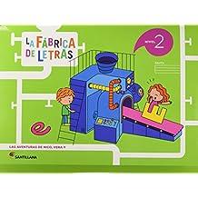 LA FABRICA DE LAS LETRAS NIVEL 2 - 9788468033884