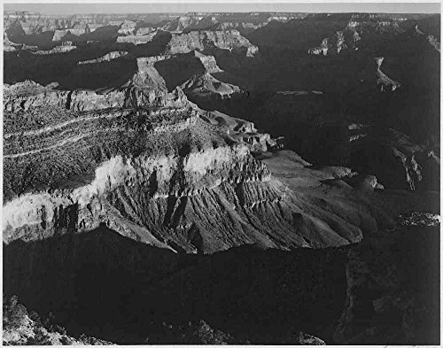 Das Museum Outlet-Adams-Grand Canyon 7, gespannte Leinwand Galerie verpackt. 29,7x 41,9cm