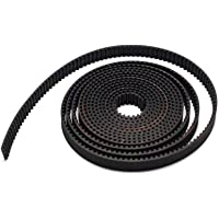 Robocraze GT2 Timing Belt for 3D Printers | 6mm Width 2mm Pitch 1 metre Open Timing Belt for RepRap 3D Printer | 3D…